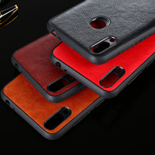 цена на Case for huawei honor 8x 8c 8a pro funda luxury Vintage Leather skin capa cover for huawei honor 8x 8c 8a case coque capa
