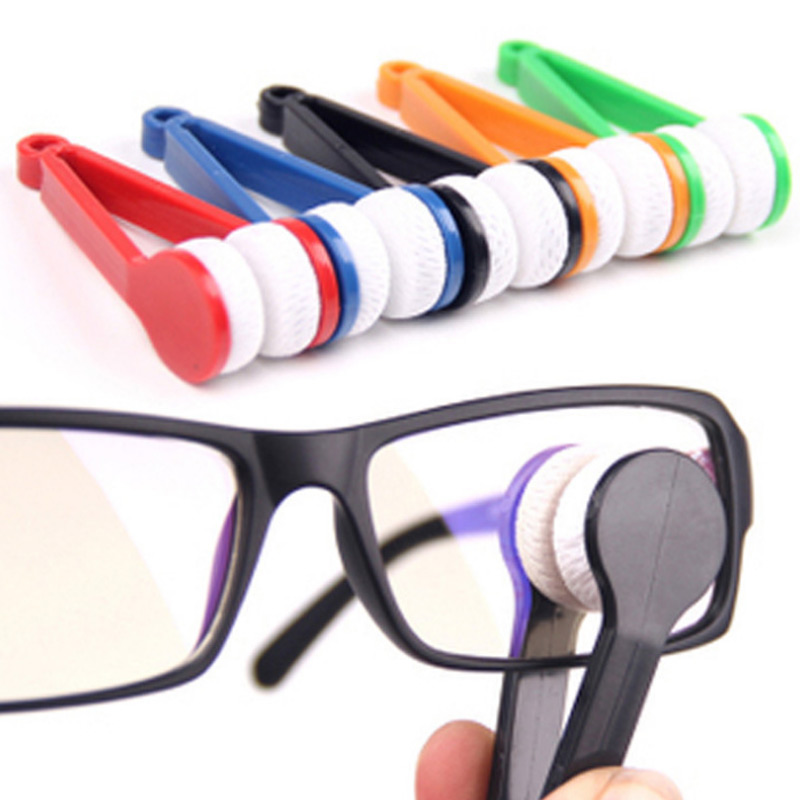 Eyeglass Sun Glasses Cleaner Microfiber Spectacles New Cleaner LXX9