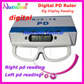 Digital PD Ruler Right And Left Pupil Distance Displayed Separately Optometry Ruler Measurer Tester Digital Pupilometer NJC12