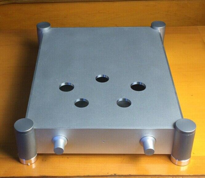 Nouvelle arrivée brise Audio 300B amp châssis en aluminium amplificateur boîtier indeau un amplificateur de puissance 300b tube châssis