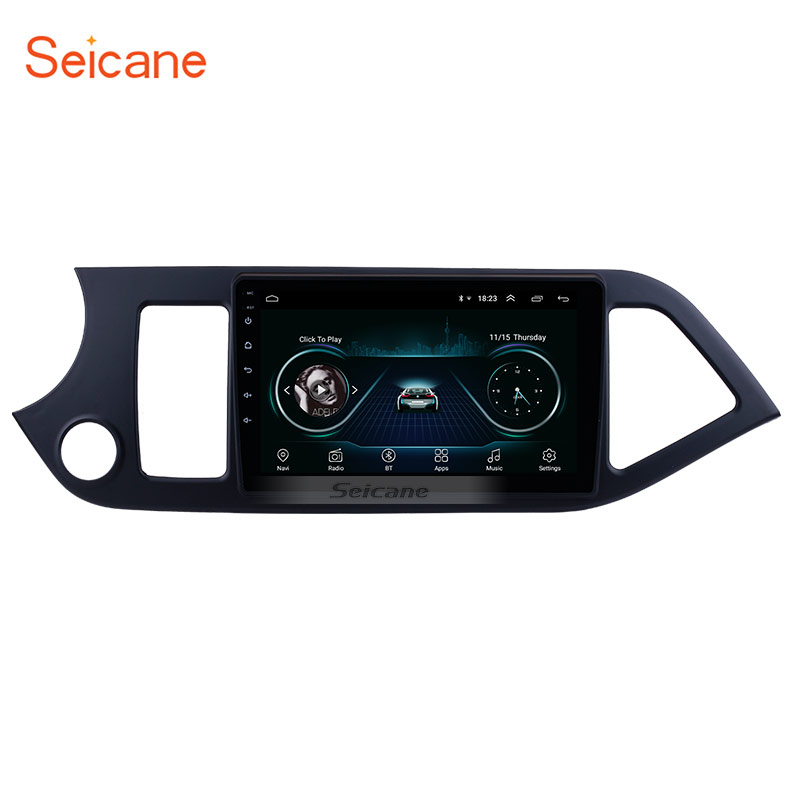 Seicane Car-Radio Multimedia-Player Head-Unit Morning Android 8.1 Wifi KIA 0 for GPS