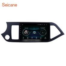 Seicane 2Din Android 8,1 9 «Car радио для 2011 2012 2013 2014 KIA Picanto Morning GPS; Мультимедийный проигрыватель головное устройство Wi-Fi 4-Core