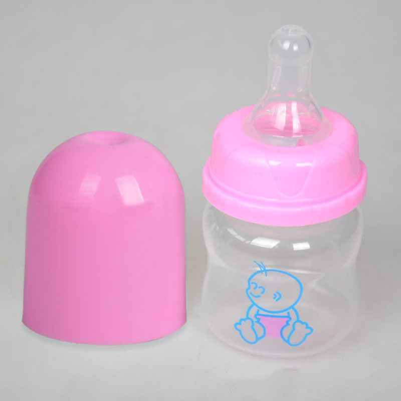 1 ชิ้นทารกแรกเกิด 60ml ยาทารก Feeding Baby Nursing นมขวดและขวดรูปแบบสุ่ม