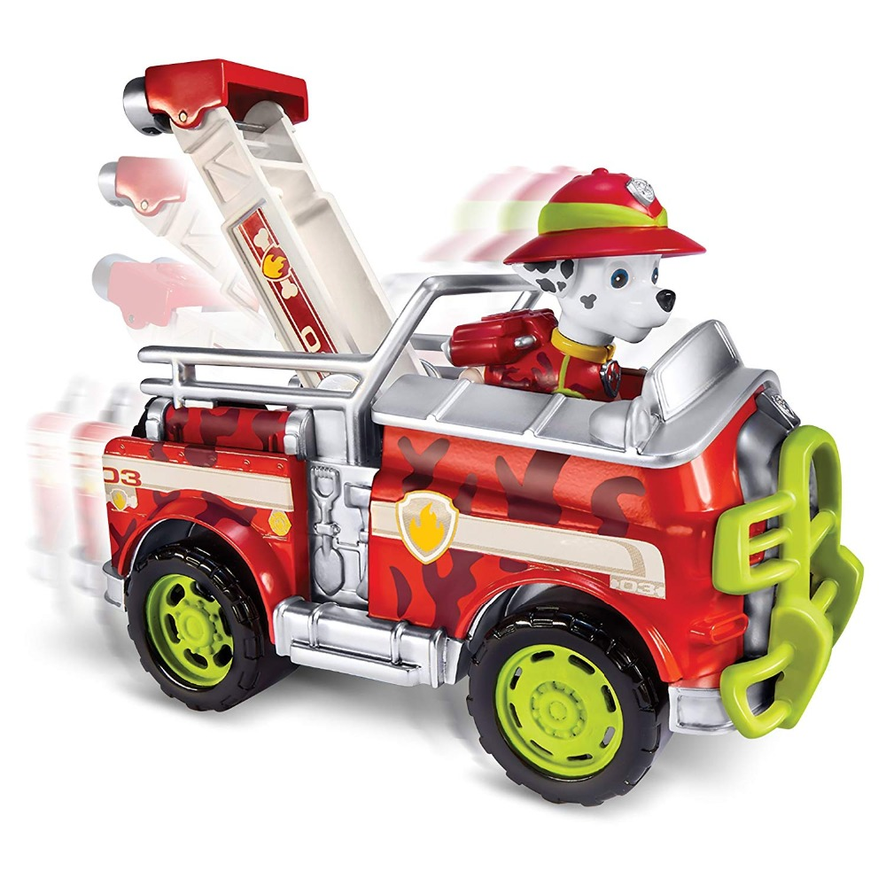 2019 Genuine paw patrol Anime Patrulla Canina Action Figure Apollo tracker Everest Ryder jungle chase skye Marshall children toy