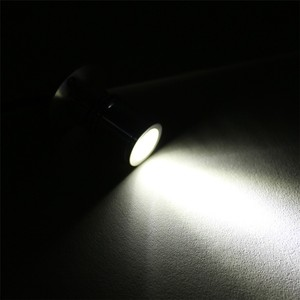 Image 4 - 5 pz/lotto 1W 3W Mini led cabinet luce del punto AC110V 220V Bianco o bianco caldo led armadio da incasso RoHS CE