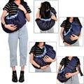 2016 Calidad ergonómica frontal frente a la porta bebé sling backpack Infantil lado Elástico De Algodón Orgánico wrap cesta Azul rojo rosa