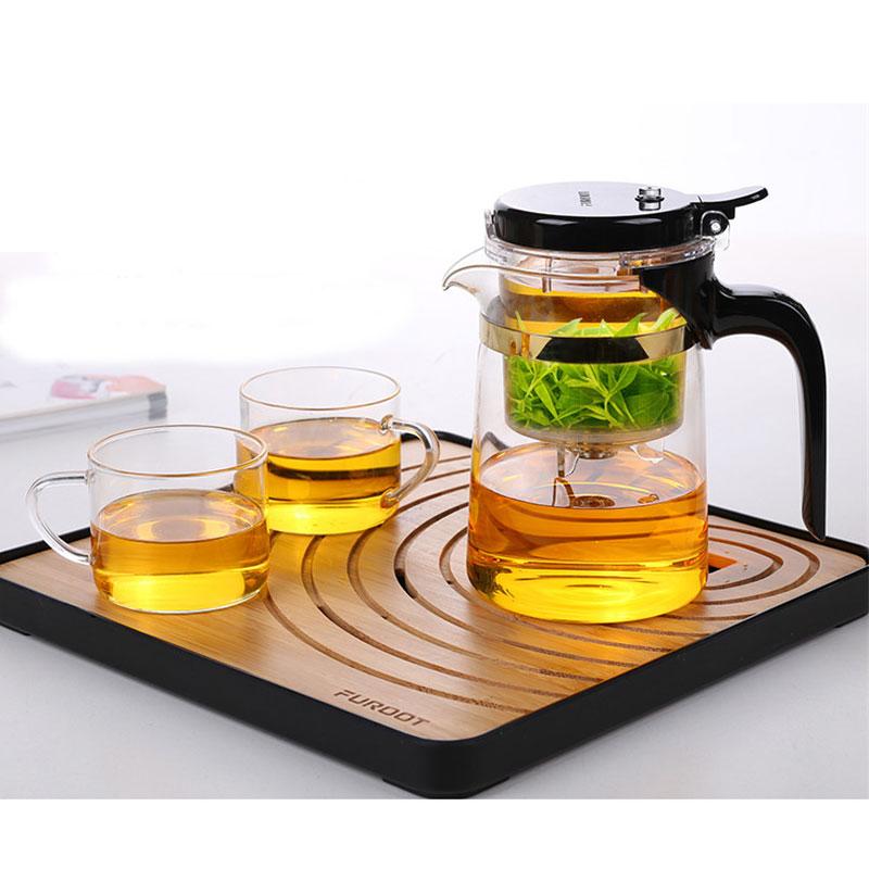 XMT-HOME infuser teapot kettle/tea tray/teapot warmer one key tea out for tie guan yin/da hong pao/puer tea 1set