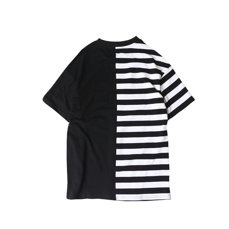 HTB173D2PXXXXXctXXXXq6xXFXXX7 - Striped T-shirt 2017 Summer Hip Hop kanye west embroidery T Shirts PTC 109