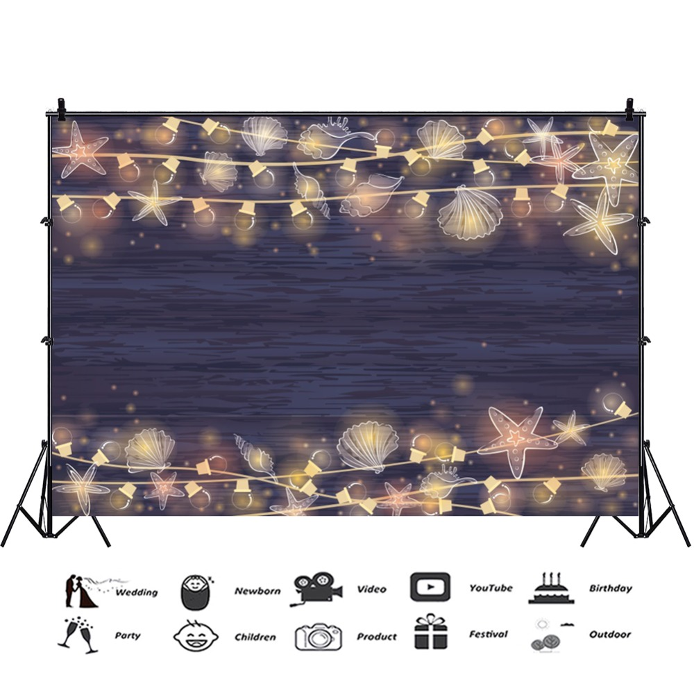 Laeacco Dark Planks Light Bulb Star Party Decor Baby Pet Portrait Photo Backdrops Photography Backgrounds Photocall Photo Studio in Background from Consumer Electronics