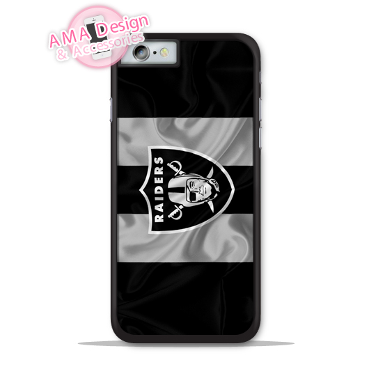 Oakland Raiders Football Flag Phone Cover Case For Apple iPhone X 8 7 6 6s Plus 5 5s SE 5c 4 4s For iPod Touch