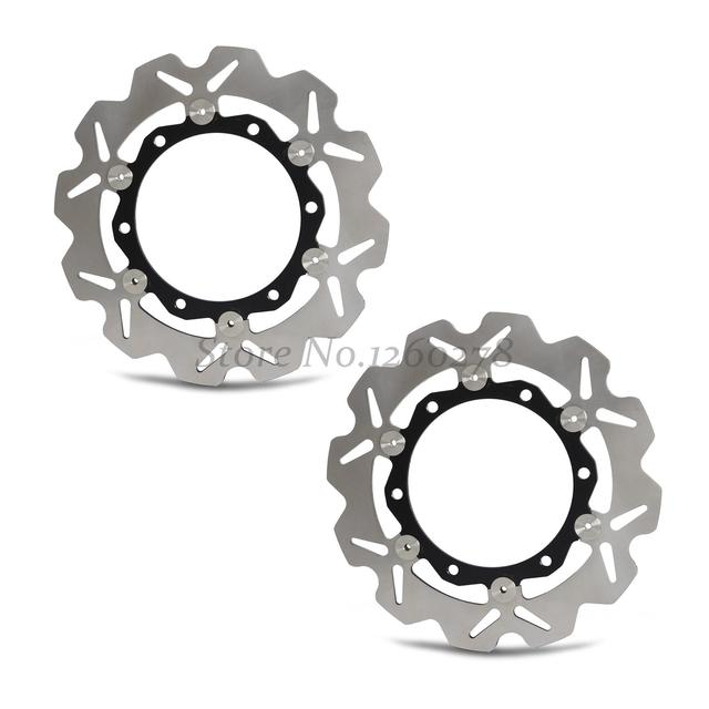 New Motorcycle Front  Rotor Brake Disc For Yamaha XP 500 T-Max  XP 530 Black Max (59CE) 13-14