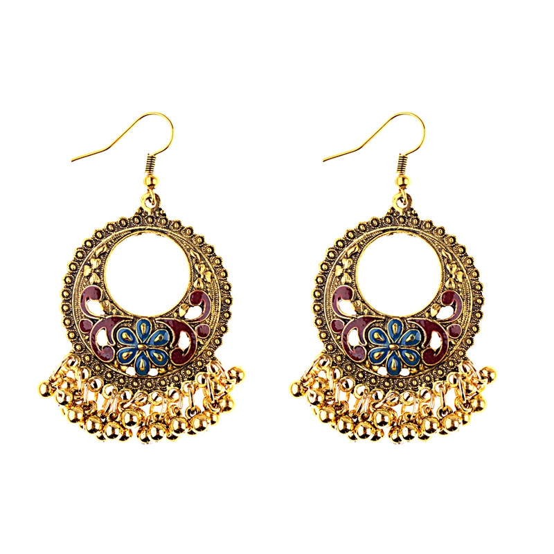 09c265473 Aliexpress.com : Buy DOUVEI Indian Jewelry Dangle Earrings Party Gift  Quality Antique Silver Plated Rhinestone Classic Drop Earrings For Women  HQE471 from ...