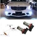 2x H11 H8  LED Fog Light DRL Eree free For Mercedes W211 W212 W164 W221 ML320 ML350 C200 C180 C260 R350 W164