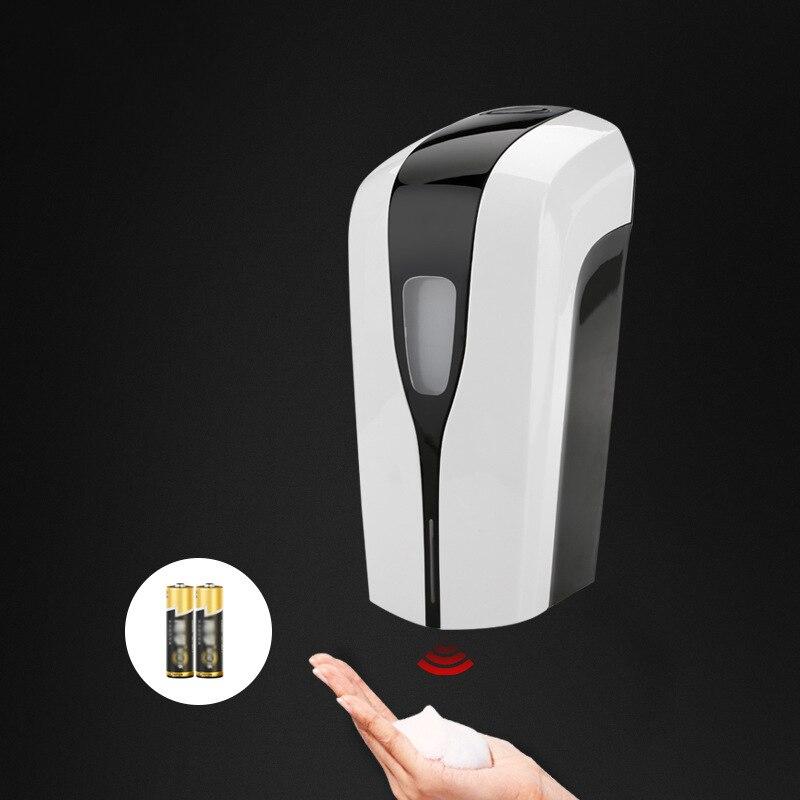 Capteur infrarouge distributeur de savon automatique mousse 1000 ml distributeur de savon en mousse automatique bouteille de savon distributeur de lavage des mains