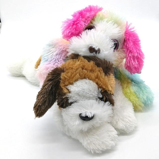 33cm Ty Classic St Bernard Dog Yodeler Plush Toy Kids Birthday Gift