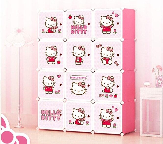 Echo baby cabinet, DIY newborn baby, simple wardrobe, magic film, cartoon plastic storage wardrobe costa nova тарелка friso 34 см белая fip343 02202f costa nova
