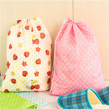 1PCS Portable Shoes Bag Pouch Storage Travel Tote Drawstring  Anti-Dust Organizer Cover Non-Woven Laundry Organizations