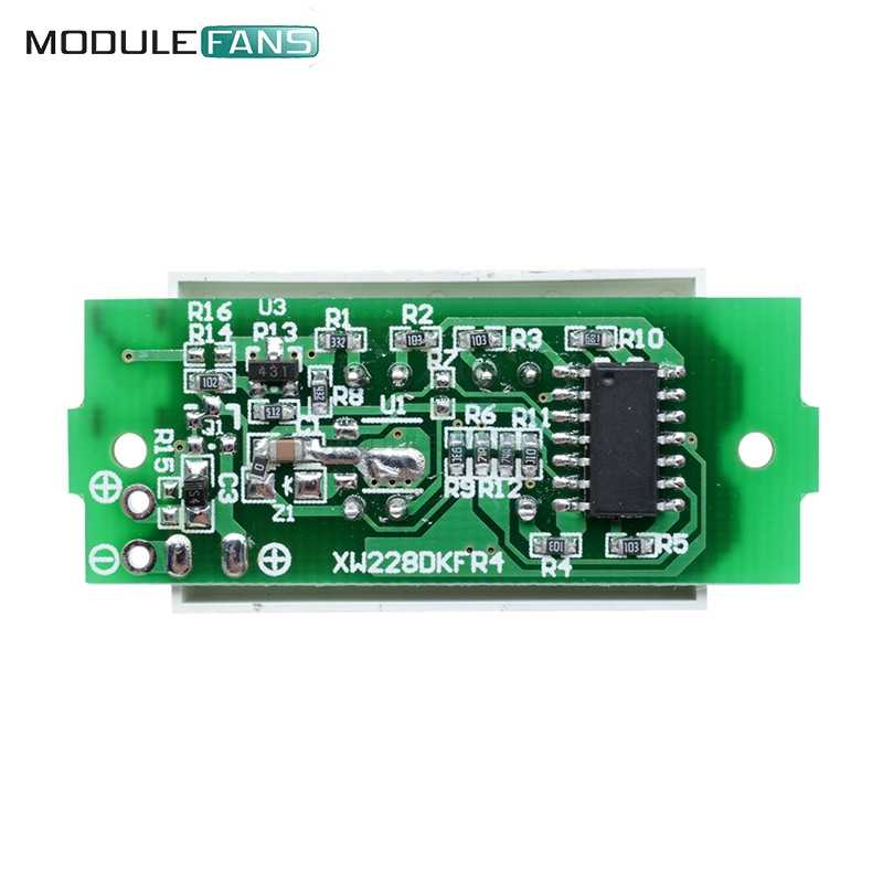 1S Enkele 3.7V Lithium Batterij Capaciteit Indicator Module 4.2V Blauw Display Elektrische Voertuig Batterij Tester Li -po Li-Ion