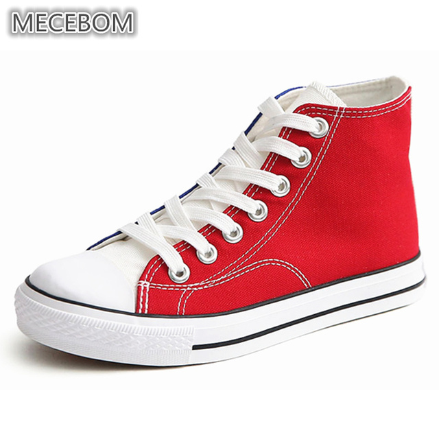 newest collection 46eab 5cc33 Women-s -Canvas-Ankle-Boots-Fashion-Blue-red-Patchwork-Casual-Ladies-Shoes-Lace-up-high- top.jpg 640x640.jpg