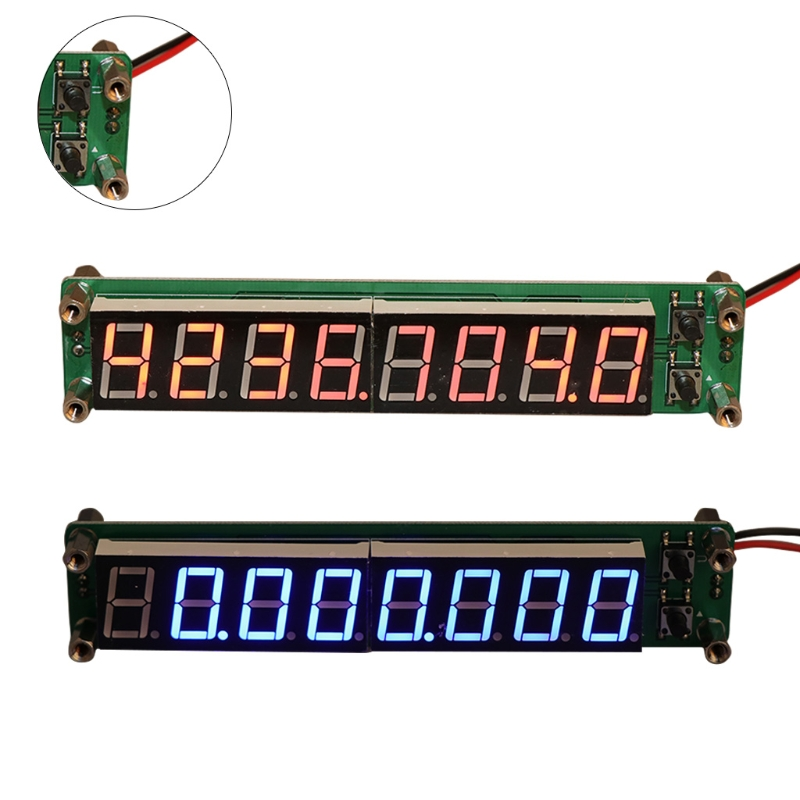ANENG 0.1-60MHz 20MHz-2.4GHz RF 8 Digit LED Singal Frequency Counter Cymometer Tester