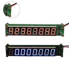 цена на ANENG 0.1-60MHz 20MHz-2.4GHz RF 8 Digit LED Singal Frequency Counter Cymometer Tester