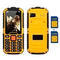 MAFAM M5 Dual sim dual bands cellphone GSM & CDMA flashlight radio recorder voiceking long standby rugged mobile phone P285