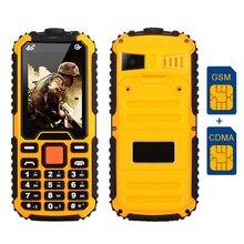 MAFAM M5 dual sim двойной полосы мобильный телефон GSM & CDMA фонарик радио рекордер voiceking длительным временем ожидания прочный мобильный телефон P285