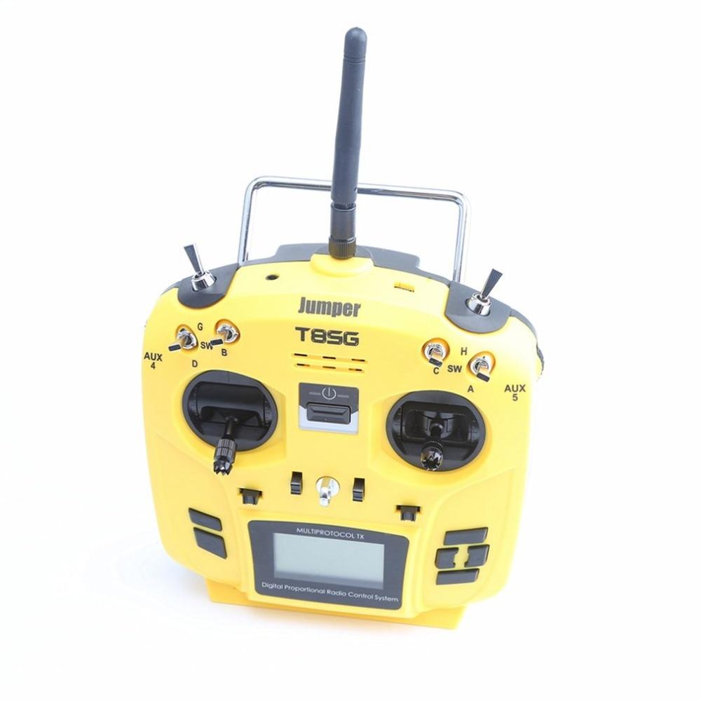 T8SG Jumper V2/V2.0 PLUS/Advanced Multi-Protocol 12CH Compact Transmitter for Flysky Frsky DSM2 Walkera Futaba RC Model Accs frsky taranis q x7 2 4ghz 16ch mode 2 transmitter rc multicopter model