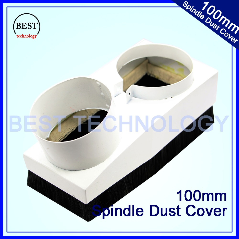 Diameter 100mm CNC Rounter  Vacuum Cleaner Spindle Dust Cover Dust Protection For CNC Woodworking Engraving Machine Dustproof !!