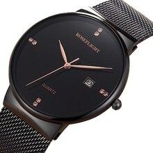 Ультра тонкие женские часы, брендовые роскошные женские часы, водонепроницаемые, розовое золото, нержавеющая сталь, кварцевые наручные часы Montre Femm