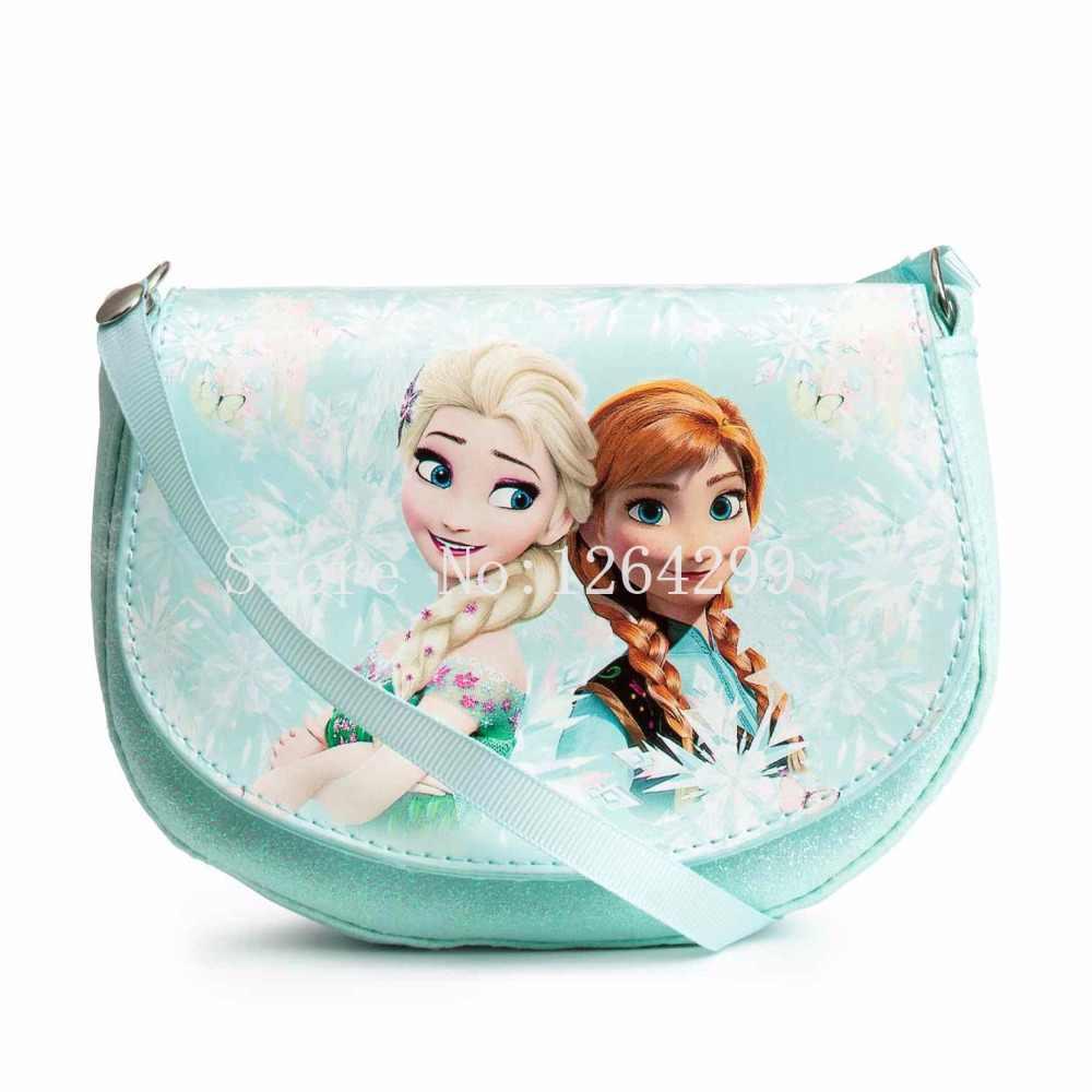 3e66415214 New Fashion Elsa Anna Princess Girls Kids Mini Messenger Shoulder Bags For  Children