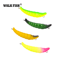 Walk Fish 1Pcs Mini Pencil Lure 3.5cm 2.4g Slow Sinking Lifelike Worm Hard Fishing Lure Trout Bait Owner Single Hook HH042