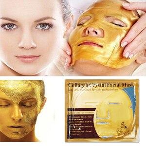 Image 5 - 10 Stuks Huidverzorging Vel Maskers Gouden Masker Anti Rimpel Whitening Gezichtsmasker Anti Aging Hydraterende Collageen Gezichtsmasker Promotionele