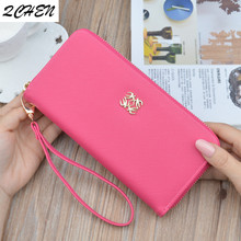 Women Long wallets Clutch New zipper tassel wallet Large Capacity Wallets Female Purse Lady Purses Phone Pocket Card Holder 448