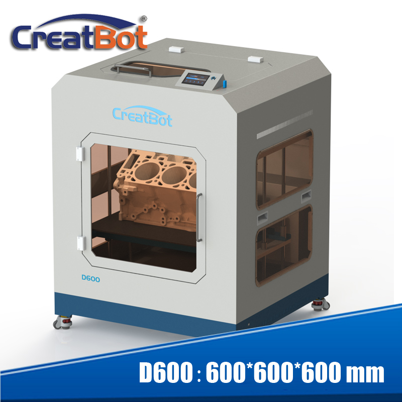 2016 Full Metal-koffert High Precision FDM DIY 3D-printer D600 - Kontor elektronikk