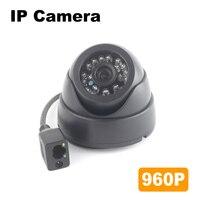 960 وعاء OV0130 ip hd 1.3mp cmos الاستشعار 24 قطع المصابيح ir للرؤية الليلية داخلي قبة الأمن كاميرا مراقبة الهاتف المحمول app