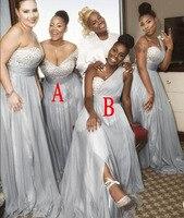 Lakshmigown 2018 платье подружки невесты с кристаллами длинное шифоновое свадебное платье в африканском стиле, пригласительные на свадьбу, больши