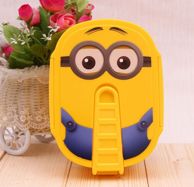800ml Cartoon Healthy Plastic Lunch Box Microwave Oven Lunch Bento Boxes Food Container Dinnerware Kid Child Gifts Lunchbox
