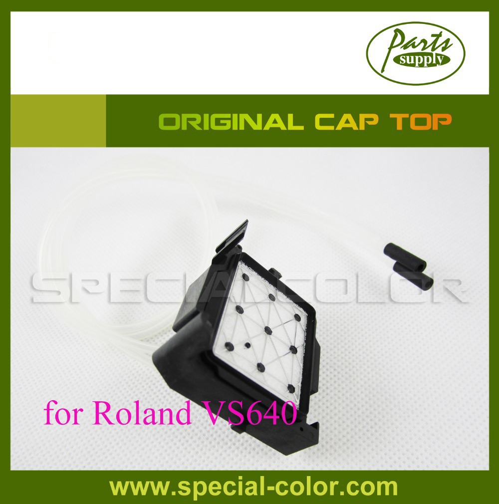 Best Price Roland Capping Station DX7 Solvent Cap Top for VS640/540/RA-640 Original 6pcs lot dx7 solvent cap top mutoh 1618 capping station protect head