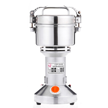 Home Kitchen Mixer Portable Chinese Grinder Herbal Medicine Stainless Steel Powdering Machine Whole Grains Grinding Machine stainless steel chinese herbal crusher electric grinder 1000g household swing type cereals grinding machine mixer chopper device
