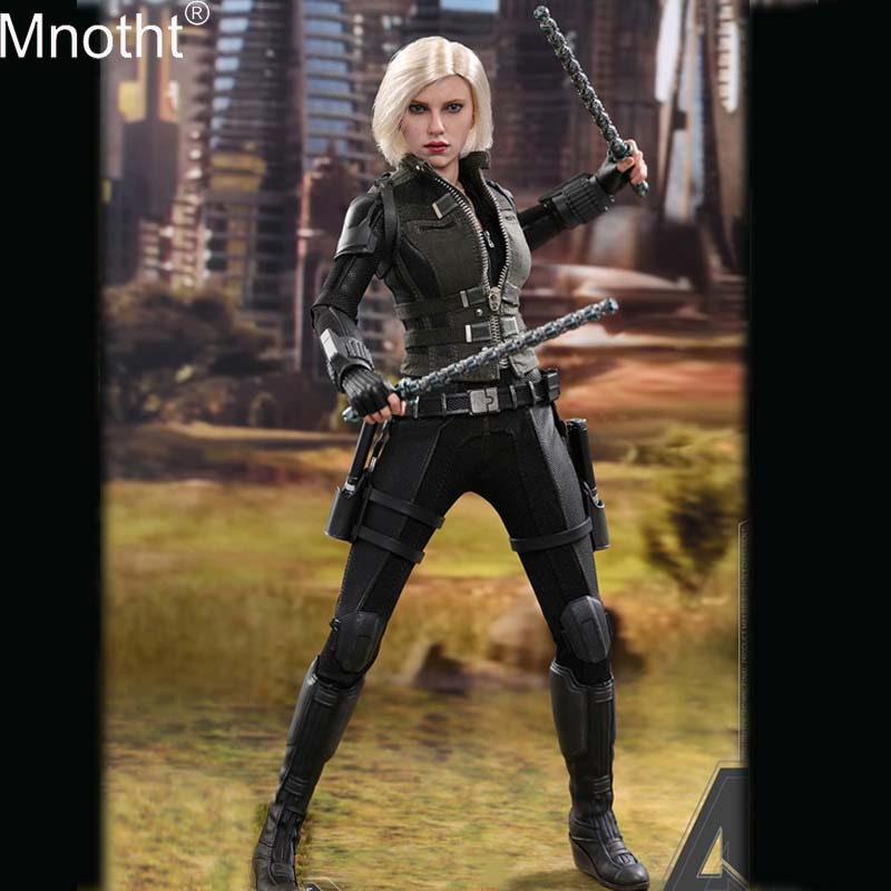 Mnotht MMS460 1/6 Avengers Alliance 3 Infinite War Black Widow Suit Set Collectible Model for 12in Soldier Action Figure Toy m3n new design 1 6 soldier action figure sniper plastic military toys 12 inch collectible toy soldiers set toy for kid free shipping