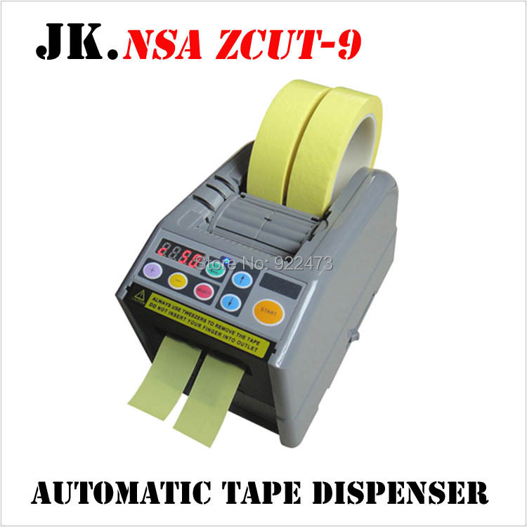 P174 NSA Brand high quality Tape machine ZCUT-9 Automatic Tape Dispenser packing tape dispenser кабель titech tt nsa