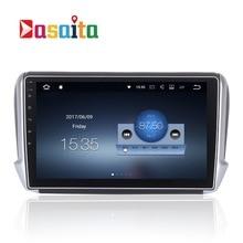 Car 2 din radio android 7.1.1 GPS Navi for Peugeot 2008 208 autoradio navigation head unit multimedia video play stereo 2Gb Ram