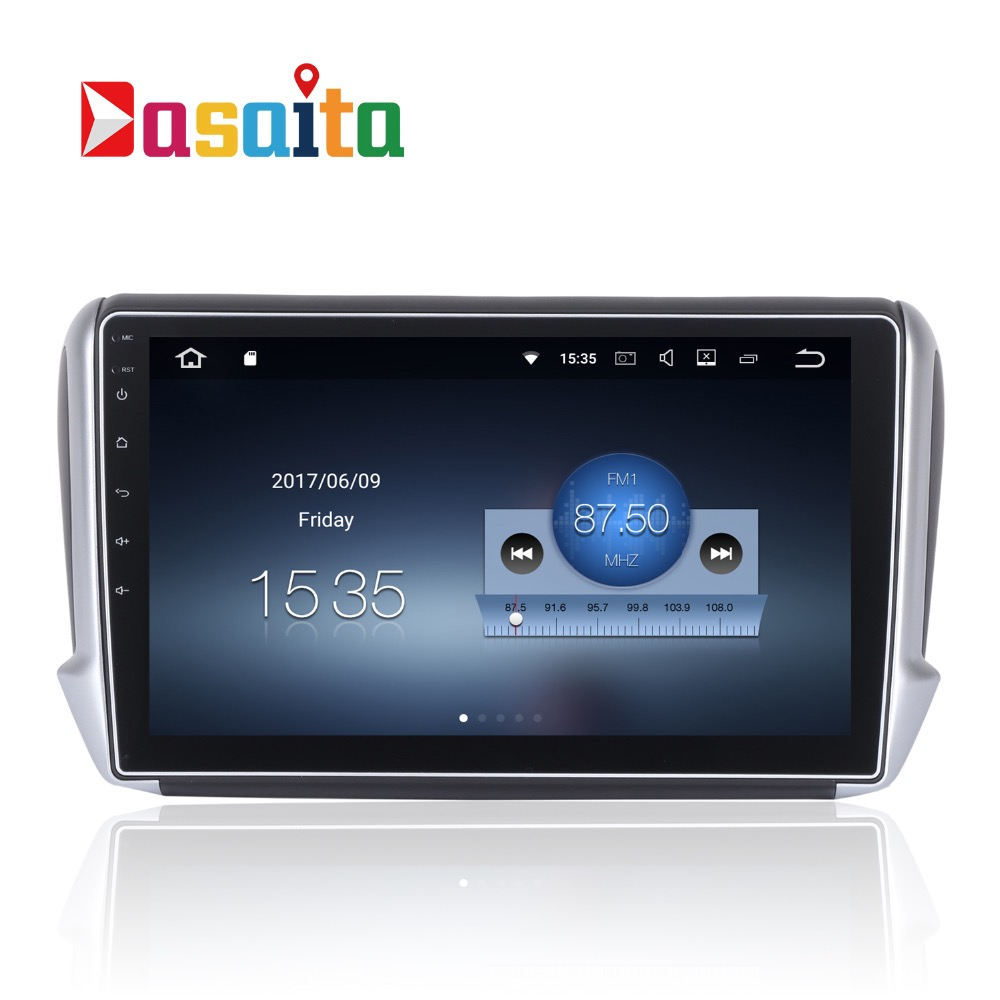 car 2 din radio android 7 1 1 gps navi for peugeot 2008. Black Bedroom Furniture Sets. Home Design Ideas