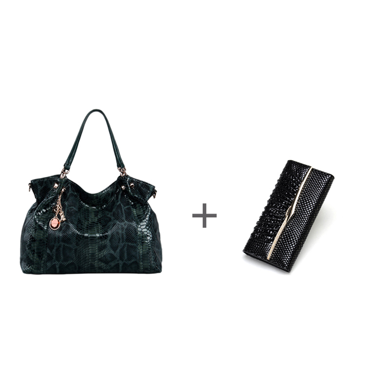FOXER Brand Fashion Women Leather Handle Bag & Long wallet #4 foxer women bag 2016 new cow leather handbag fashion long wallet banquet hand bag