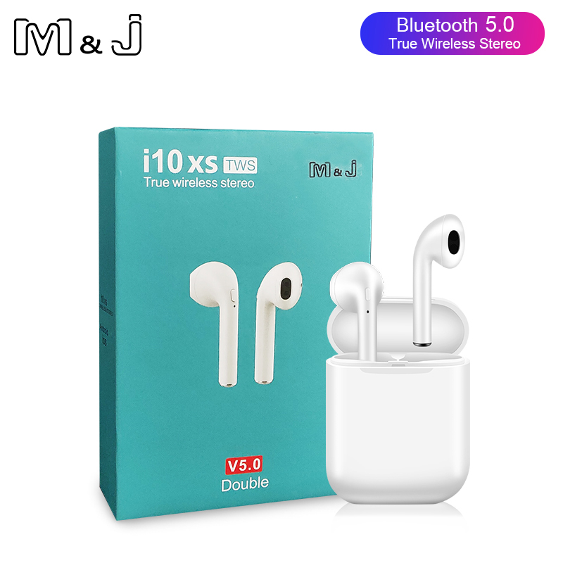 <font><b>i10xs</b></font> <font><b>TWS</b></font> Wireless Bluetooth Earphones Stereo earbuds <font><b>i10xs</b></font> vs i7S i9s i11 iPhone xiaomi Huawei image