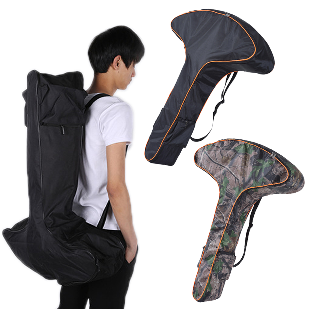Portable T Shaped Bow Bag Adjustable Shoulder Strap Oxford Bow Carry Case Outdoor Archery Hunting Accessories