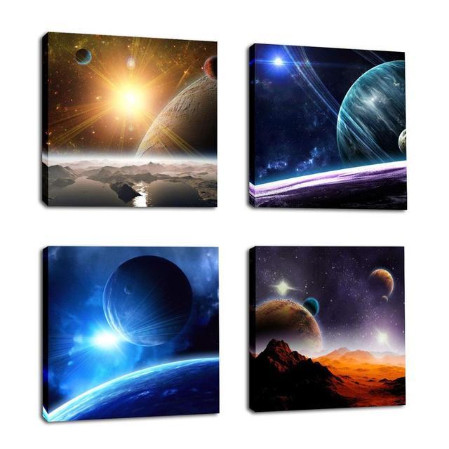 Sprzedaż Galaxy Malarstwo Dekoracyjne Zdjęcia Droga Mleczna