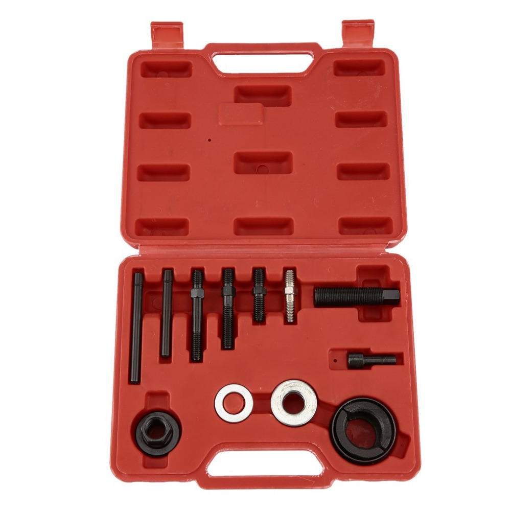 small resolution of professional 13pcs set automotive pulley puller remover installer tool kit metal power steering pump