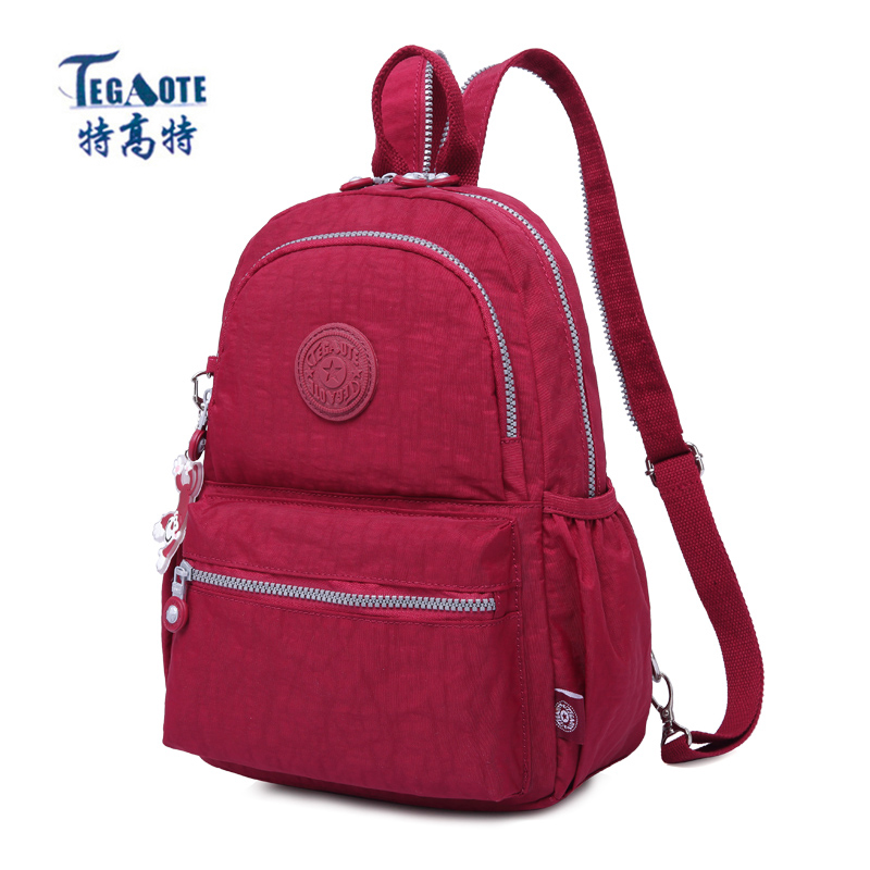 0cbae7e1c5 TEGAOTE Small Backpack for Teenage Girls Backpacks Newest Mochila Escolar  Casual Nylon Mini Women Backpack 2018 Kipled Nylon bag - aliexpress.com -  imall. ...